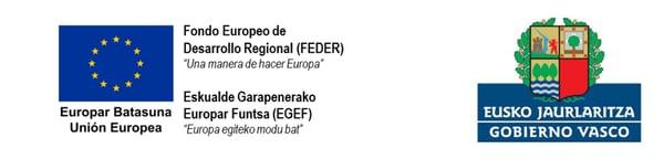 Logo UE + GObierno Vasco